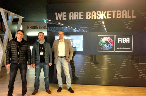 We are basketball FIBA