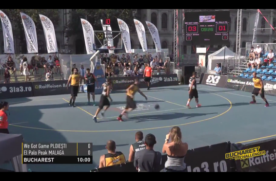 3x3 World Tour Buchrest 2015